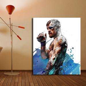 Mayweather Vs Yann Dalon Tarafından McGregor Poster Tuval Boyama Baskı Yatak Odası Ev Dekor Modern Duvar Sanat Yağlıboya Posteri Yapıt