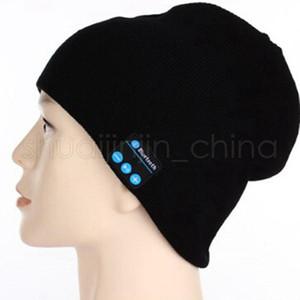 Bluetooth Musik-Strickmütze weiche warme Wireless Speaker Receiver Outdoor Sports Smart-Cap Headset Beanies Hat TTA1389-14