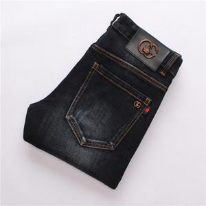 Usan nueva llegada de los hombres originales del diseño de los hombres de moda los pantalones vaqueros de alta calidad pantalones rectos Mu8910