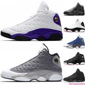 Discount 13 Cap And Gown 13s Rivals Men Basketball Shoes Atmosphere Grey He Got Game Mens Designer Trainer Sports Sneakers Size 8-13