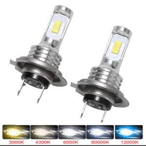 LED lambalar için Otomobil Far Ampüller H4 H8 H11 Sis Işık HB3 9005 HB4 Buz Mavi 8000K 3000K Otomatik 12V açtı