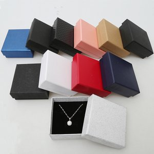 Jewelry Gift Boxes with Fille for Rings, Pendants, Necklaces-Ideal for Anniversaries, Weddings, Birthdays-8.3*8.3*3.5cm