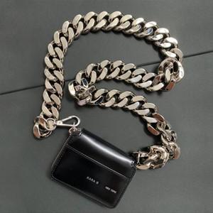 019 bolsa de Kara bolsa gruesa cadena de moda bolsillos en diagonal en el pecho cruz de la moneda ins súper fuego de mini de cuero pequeño bolso de la hembra del envío gratis