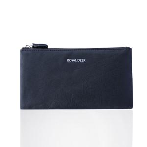 Мужской кожаный бумажник новый ретро кожаный длинный кошелек матовый кошелек TQ-214
