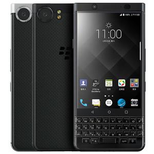 Recuperado Original Blackberry Keyone 4,5 polegadas Octa Núcleo 3GB RAM 32GB 10pcs ROM 12MP Câmera Desbloqueado 4G LTE Android entregas DHL livre