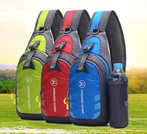 Unisex impermeabile Spalla Cassa sacchetto esterno di corsa di sport zaino bollitore sacchetto di nylon Crossbody Spalla Cassa Sling Bag Cycle