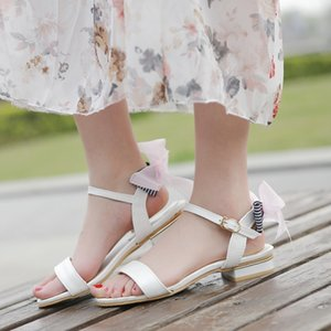 Big Size 11 12 13 14 15 high heels sandals women shoes woman summer ladies Simple Roman sandals with one word band