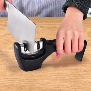 Точилка для ножей 3 этапа профессиональная кухня точильный камень точильщик ножей точильный камень Вольфрам Алмаз керамическая точилка инструмент