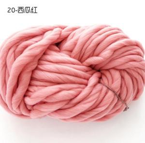 linha de roupas Tecido Regimento Yarn-coreano super lã grossa de lã islandês grande linha chapéu de espessura especial lã
