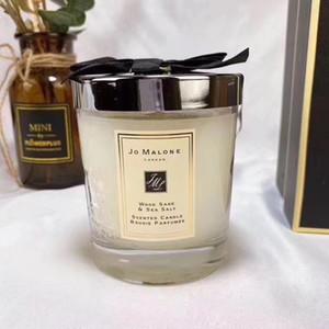 Pronto magazzino Jo Malone London Natale Pazzo candela fragranza 200g di alta qualità Candele Incenso in contenitore di regalo di trasporto