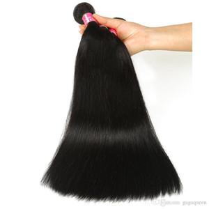 도매 4Pcs 많은 바로 브라질 Virgin 머리 은혜가 머리 회사는 밍크 바로 브라질 사람의 모발 연장 8A Braizlian 무료배송