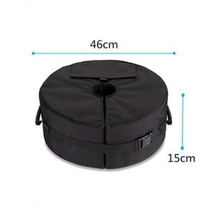 Schirmständer Gewicht Tasche Außensonnenschutz Fixed Base Zelt Sandbag windundurchlässiges Rad sandbag Strandschirm Gartenmöbel