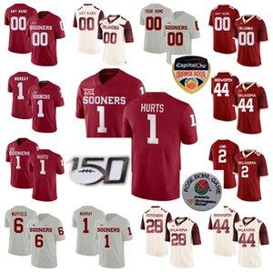 Oklahoma Sooners Jerseys CeeDee Cordeiro Jersey Sam Bradford Kennedy Brooks Samaje Perine Lee Morris College Football camisas personalizadas costurado