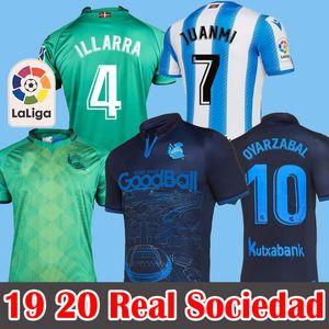 19 20 soccer jersey Real Sociedad Camiseta de fútbol special kit X.PRIETO J.ZALDUA AGIRRETXE Soccer Jersey CARLOS V. GRANERO M.BERGARA JUANMI Football Shirt