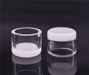 Opaque Quartz Banger Insert bowl 15mm 20mm Flat Top Bottom Thermal Skillet Quartz Phat Bowl Insert Drop for Glass Water Bongs Dab Rigs