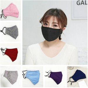 Fashion Face Mask Men Women Masks Cover Anti Dust PM2.5 Ultraviolet-proof Mouth-muffle Washable Breathable Respirator Designer Mask INS