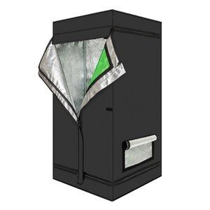 창 녹색 검정색의 LY-60 * 60 * 120cm 가정용 조립식 수경 식물 성장 텐트