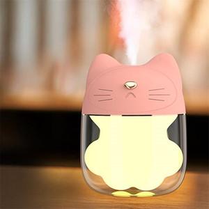 Мини 150 мл Cat Claw Воздушный Увлажнитель USB Ультразвуковой Увлажнитель Эфирное Масло Аромотерапия Распылитель Аромата Лицо Опрыскиватель для Дома Подходит для ca
