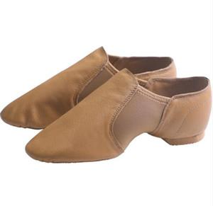 Danse Femmes premium authentique pleine Sole Ballet Slipper en cuir / chaussures