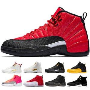 Jumpman Jordan retro 12 ВоздухИорданияРетро12 Баскетбольные кроссовки для мужчин и для женщин Дизайнерские мужские Мичиган гамма-синий Темно-серый Game Royal Sport Trainer Shoes