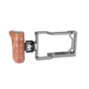 CAMVATE New design Sny A6500 Full Cage Kit With Rosette Wooden Handgrip Right Side C2074