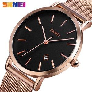 SKMEI Quartz Ladies Watch Fashion Casual Women Watches Stainless Steel Waterproof horloges vrouwen Top Brand Luxury Clock 1530