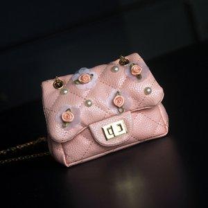 Épaule sac à bandoulière de Raged Sheep Mini enfants Chaîne Sac fille fleur princesse sac à main Mode Bébé petits enfants Porte-monnaie