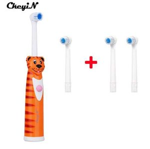 CkeyiN Dental Care электрическая зубная щетка Нет перезаряжаемый С 4 насадки Батарейках зубов щетка гигиены полости рта Зубная щетка