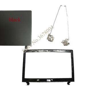 Laptop Bags nuovi casi per Lenovo Ideapad 100-15 100-15IBY B50-10 nero caso della copertura superiore / LCD Bezel copertina / cerniere LCD