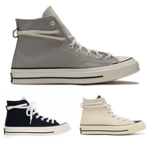 2020 Zapatos FOG 1970 Chuck Taylor 70 mujeres de los hombres de lona Altos tops temor de Dios Fundamentos de deporte zapatillas de deporte casuales del monopatín entrenadores size36-44