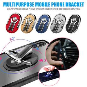 Monte Car Air Vent aperto Multipurpose 2 em 1 Suporte Móvel Telefone 360 graus de rotação stand Rotação Dedo Magnetic Anel Phone Holder Bracket