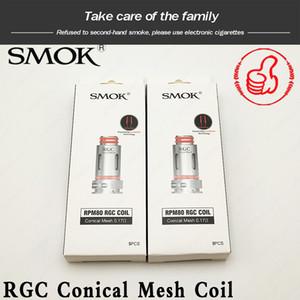 Smok RGC Bobin 0.17ohm RGC Konik Örgü Bobin RGC MTL 0.8ohm uygun otantik Pro Getir Pro POD RPM80 POD Fetch