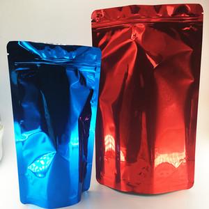 OEM Поддержка Zip блокировки Майларовые Сумки пахнут Proof Stand Up Чехол на молнии алюминиевой фольги Clear закрывающемся пластиковом Retail Packaging RUNTZ сумки