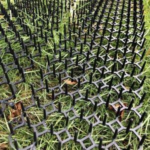 Kedi Scat Mat ile Dikenler Kedi Caydırıcı Açık Mat İçin Bahçe Çit 4Pack