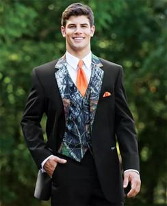 Сшитое на заказ жениха пика отворот жениха смокинги фрак на заказ мужские костюмы выпускного вечера лучший блейзер (куртка + жилет + брюки)