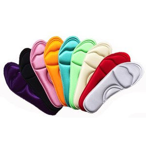 1 Pair NEW Unisex Memory Foam Custom massage Shoe Insoles Trainer Foot Care Shock-Absorbant Summer Breathable insoles