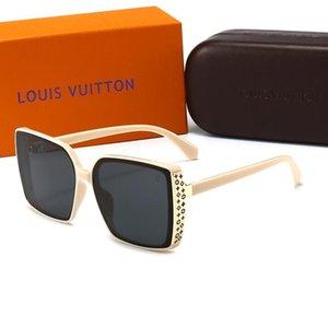 20ss popular fashion leisure noble ladies sunglasses womenLuxuryDesignerBrand1LLV sunglasses 1LUV400