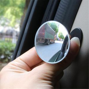 Mini Espelho Retrovisor Car espelho retrovisor pequeno espelho redondo Grande Visão reversa Assist Blind Spot 360 Rotary Car Acessório