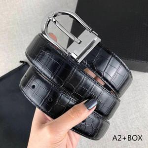 Cinturones de moda de diseño de la correa de lujo para Cinturones Hombre Mujer Marca hebilla de la aguja 12 colores opcionales muy calidad con la caja