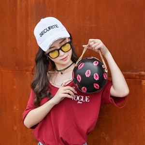 Basquetebol Futebol ombro Shaped Messenger Bag Bolsa Tote Mini Crossbody PU Handbag ajustável Strap Para Mulheres Meninas Homens 2020