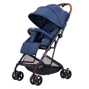 Lightweight baby stroller umbrella newborn pram simple super small sitting and lying baby carriage travel car on the plane