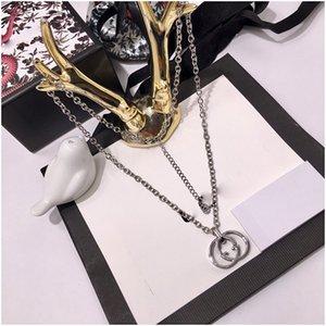 Gg Necklaces Designer Luxury Jewelry Women Fashion Block Pendant Necklace Animal Design Party Fine Jewelry Luxury Designer Brand Jewelry