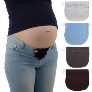 Annelik Kemer Hamile Kadın Kemer Uzatma Toka Elastik Extender Yumuşak Pantolon Hamilelik Ayarlanabilir Bel Uzatma 2.