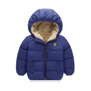 BibiCola 2018 boys winter thick jackets fashion bebe warm plus velvet hoodies coat Outwear Baby & Kids Clothing chidlren sport outerwear dow