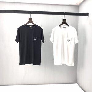 2019 tee shirts étendue hip-hop Fashion trou Streetwear Kanye West manches courtes chemises t refroidissent vêtements swag 39