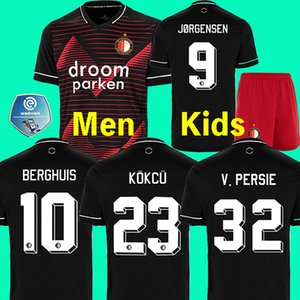19 20 Футбольная майка Feyenoord футболка VAN PERSIE футболка 2019 2020 BERGHUIS VILHENA футболка с принтом футбола JORGENSEN футболка CLASI maillot de foot