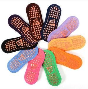 Meias bebê criança Piso Socks Crianças Yoga Trampolim meias de algodão Ankle Sock Chinelos Sports Designer Non -Slip Curto Meias Tornozeleira