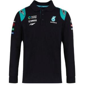 F1 패션 팀 긴 소매 T 셔츠 -2019 레이싱 MERCEDES AMG 팀 긴