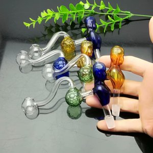 Classic Coloured Beauty Football Glass Boiler Wholesale Glass bongs Oil Burner Glass Water Pipes Oil Rigs Smoking Free shipping