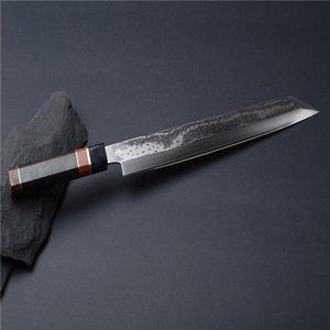24 27 30CM اليابان Kiritsuke الساشيمي السوشي اليابانية سكين VG10 دمشق الصلب مطبخ الشيف سلمون فيليه السمك الطبخ أداة 2.2G